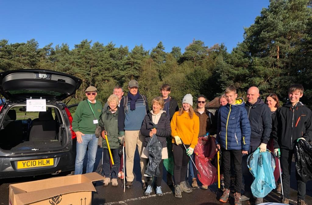 Frimley Fuel Litter Pick at Pine Ridge